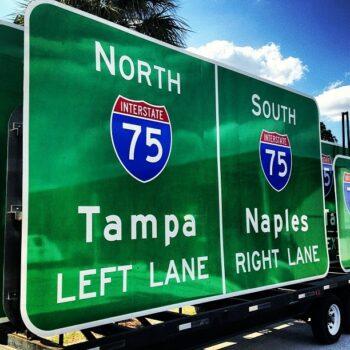 Roadway Signage
